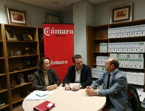 Encuentro con representantes del Banco Santander en Castilla-La Mancha
