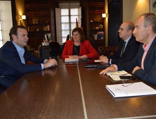 Reunión con Patricia Franco, consejera de Economía, Empresas y Empleo