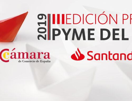 Banco Santander y la Cámara de Comercio de Albacete convocan el Premio Pyme del Año 2019