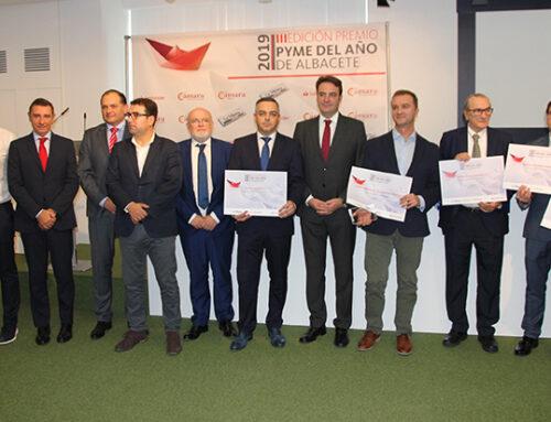 La Cámara de Comercio premia a Campos Corporación Soluciones Integrales como Pyme del Año 2019