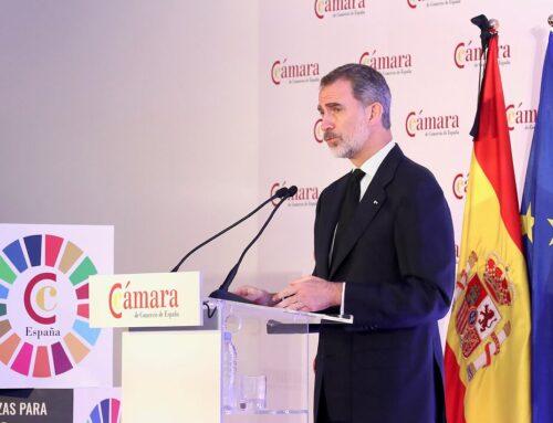 S.M. el Rey: «Juntos y entre todos debemos ser capaces de reactivar la economía con toda la fuerza, solidaridad y solvencia de lo que los españoles son capaces y se merecen»