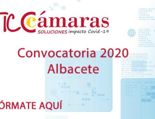 Convocatoria del programa TICCámaras 2020