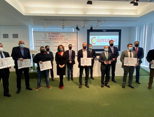 """""""El Conchel Original Food"""" recibe el IV Premio Pyme del Año 2020 de Albacete"""