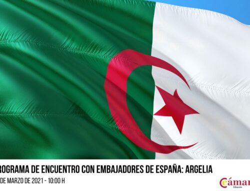 Encuentro virtual con el Embajador de Argelia el 3 de marzo a las 10:00 horas